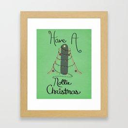 Nollie Christmas Framed Art Print