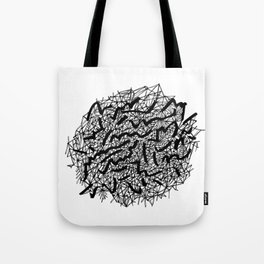 Modern Lace Tote Bag