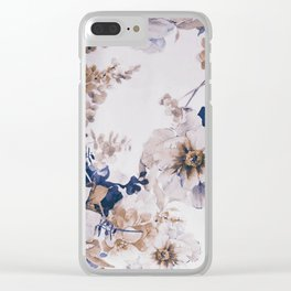 FLORAL PATTERN31 Clear iPhone Case