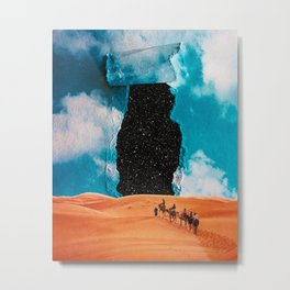 False Sky Metal Print