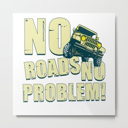 Off road, gift, offroad Metal Print