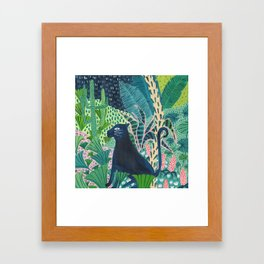 Jungle Jaguar Framed Art Print