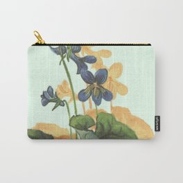 Provincial Flowers - New Brunswick Carry-All Pouch