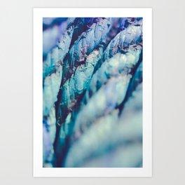 Nautical Rope Art Print