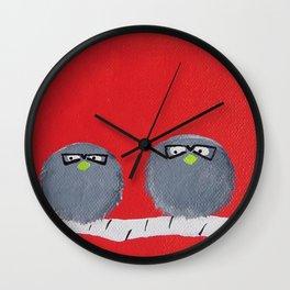 The Smart Birds Wall Clock