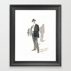 A Dapper Man Framed Art Print