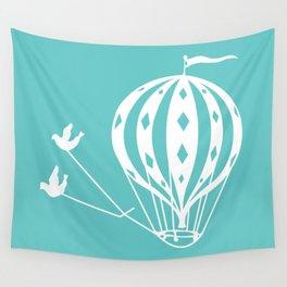 Pyrex Hot Air Balloon Wall Tapestry