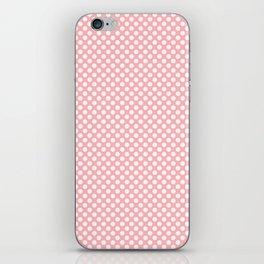 Polka Dots Pattern-Pink iPhone Skin