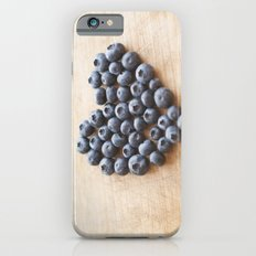 Blueberry Heart iPhone 6s Slim Case