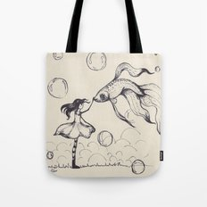 Dreamer & Obie (pen) Tote Bag