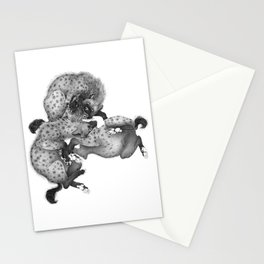 Spotted Hyenas Stationery Cards