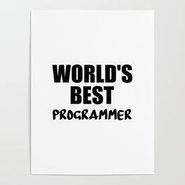worlds best programmer Poster