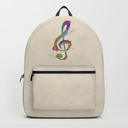 Treble Clef Backpack