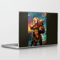 samus Laptop & iPad Skins featuring Samus  by ururuty