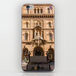 Sydney Cenotaph and Historic GPO Building, Martin Place, Sydney iPhone Skin