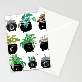 Cauldron Planters Stationery Cards