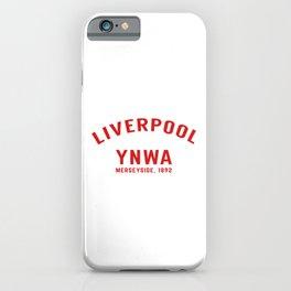 Liverpool tshirt | You'll Never Walk Alone | YNWA shirt | Premier league team iPhone Case