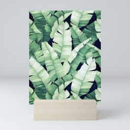 Banana leaves III Mini Art Print