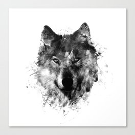 Wolf Like Me V2 Canvas Print