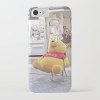 winnie the pooh iPhone & iPod Cases featuring Winnie the Pooh in Japan by somethere