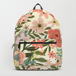 Only from the heart can you touch the sky. Rumi Quote Backpack