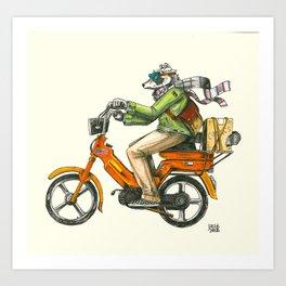 Scooter Art Print