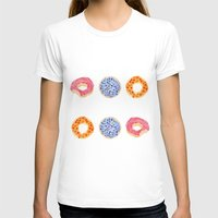 doughnut T-shirts featuring doughnut selection by cardboardcities