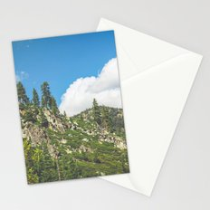 Lake Tahoe Mountains Stationery Cards