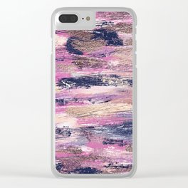 Rushing Pellmell Into Mad Confusion Clear iPhone Case