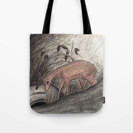 Deer Hunter Tote Bag