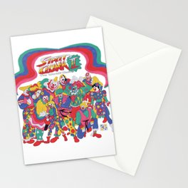 Street Fighter Clown Edition Stationery Cards