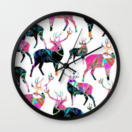 Dear'O'Deer Wall Clock