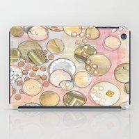 fancy iPad Cases featuring fanCy by Kras Arts - Fly Me To The Moon