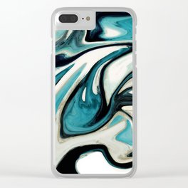 agate slice, geode art, geode agate, agate art, contemporary art, abstract geode, abstract art Clear iPhone Case