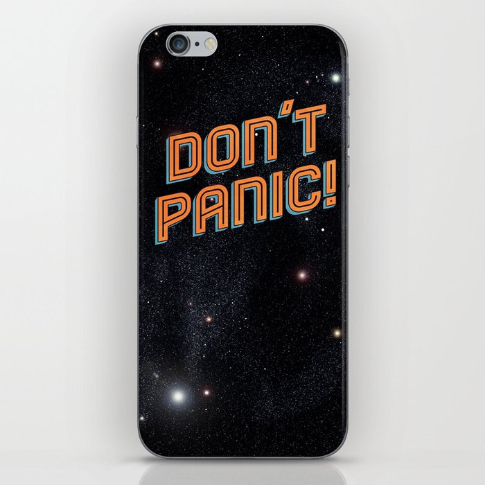 Don't Panic iPhone Skin