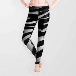 Zebra rug decor Leggings