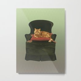 This is my throne Metal Print