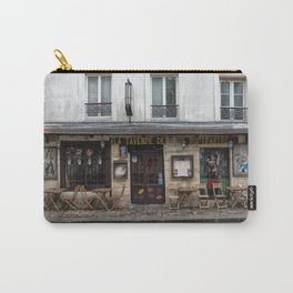Cafe in Monmartre Paris Carry-All Pouch
