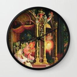 Matthias Grunewald - Concert Of Angels From The Isenheim Altarpiece. Wall Clock