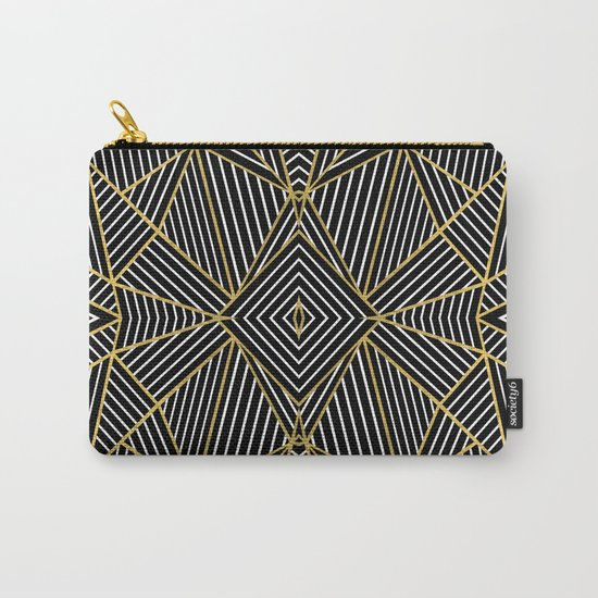 Ab Half Gold Carry-All Pouch