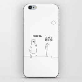 Dream Too Big iPhone Skin