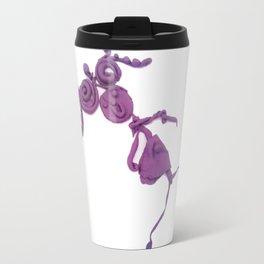 Purple Human Girl Travel Mug
