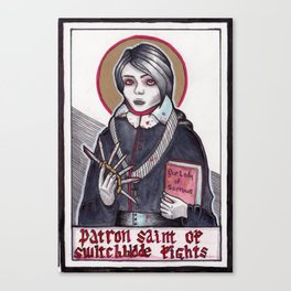 Our Lady of Sorrows Canvas Print