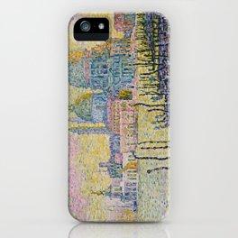 Grand Canal (Venice) - Paul Signac iPhone Case