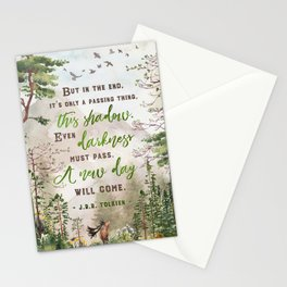 But in the end Stationery Cards