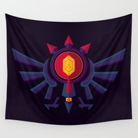 hyrule Wall Tapestries featuring An Eye for the Truth by badOdds