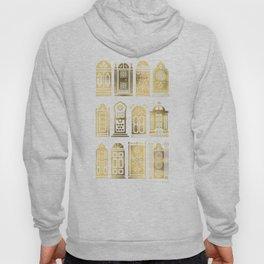 Moroccan Doors – Gold Palette Hoody