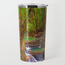 Oregon Falls Travel Mug