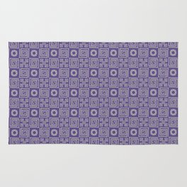 Lines and Shapes - 2018 Pantone COY Rug