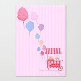Cotton Candy Shop Canvas Print